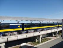 Treno dell'Alaska Fotografie Stock