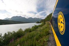 Treno 2 dell'Alaska Fotografie Stock Libere da Diritti