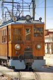 Treno dell'annata Immagine Stock