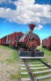 Treno dell'annata Immagini Stock