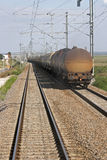 Treno dell'olio Immagini Stock