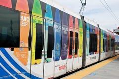 Treno dell'Utah Trax Fotografia Stock