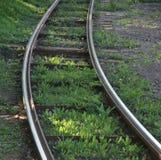 Treno della ferrovia Fotografie Stock