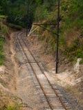 Treno della ferrovia Fotografia Stock Libera da Diritti