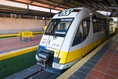 Treno della ferrovia a scartamento ridotto Fotografia Stock