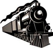 Treno della locomotiva di vapore Fotografie Stock Libere da Diritti