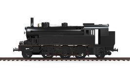 Treno della locomotiva a vapore Fotografia Stock Libera da Diritti