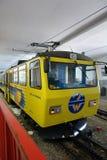 Treno della montagna di Wendelstein Fotografia Stock