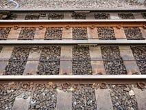 treno della pista Immagini Stock