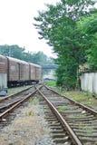 treno della pista Fotografia Stock