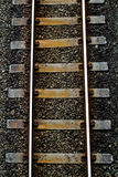 treno della pista Immagine Stock