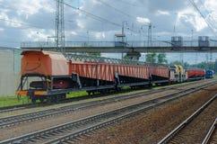 treno della pista Fotografia Stock Libera da Diritti