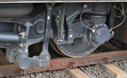 Treno della ruota Fotografia Stock Libera da Diritti