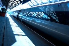 Treno di affari Fotografia Stock