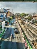 Treno di alianti di Bangkok fotografia stock