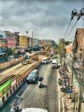 Treno di alianti di Bangkok fotografia stock libera da diritti