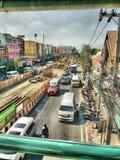 Treno di alianti di Bangkok immagine stock