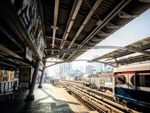 Treno di alianti tailandese fotografie stock libere da diritti