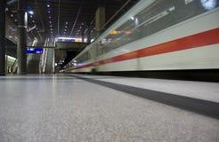treno di Barcellona Fotografie Stock