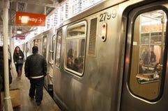 Treno di Chicago Immagini Stock