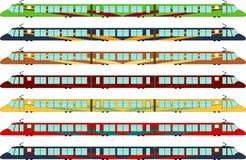 treno di Ciao-velocità Immagini Stock Libere da Diritti