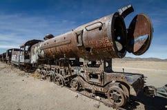 Treno di fantasma, Bolivia Immagini Stock Libere da Diritti