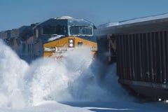 Treno di Frieght immagine stock