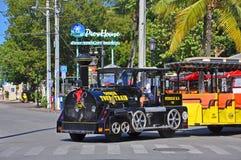 Treno di giro della conca di Key West, Florida immagine stock