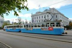 Treno di Gothenburg Immagine Stock Libera da Diritti