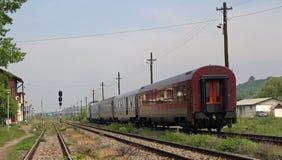 Treno di Interregio Immagini Stock Libere da Diritti