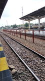 Treno di Kisaran su mio luogo natio Immagini Stock