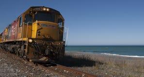 Treno di Kiwi Rail Fotografia Stock Libera da Diritti