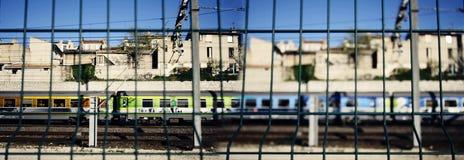 Treno di Marsiglia Fotografie Stock