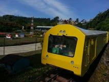 Treno di Miniatur Immagine Stock Libera da Diritti