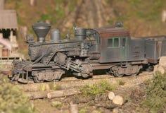 Treno di modello Immagini Stock