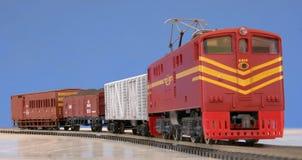 Treno di modello Fotografie Stock