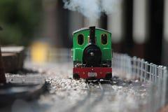 Treno di modello 4 immagini stock