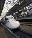 Treno di richiamo ad alta velocità - Giappone Fotografia Stock