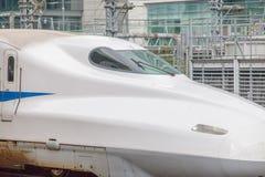 Treno di richiamo di Shinkansen Immagine Stock