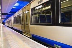 Treno di richiamo, Sudafrica - Gautrain Fotografia Stock