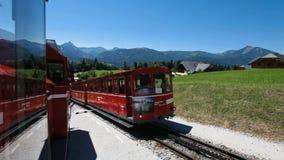 Treno di Schafberg, Austria settentrionale archivi video