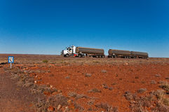 Treno di strada Fotografia Stock Libera da Diritti
