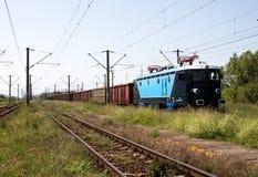 Treno di trasporto Fotografie Stock Libere da Diritti