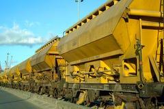 Treno di trasporto Immagini Stock Libere da Diritti