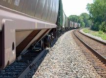 Treno di trasporto Immagini Stock