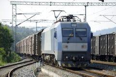 Treno di trasporto cinese Immagine Stock