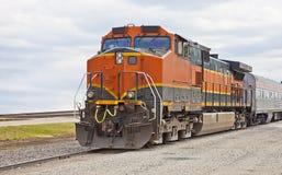 Treno di trasporto moderno Immagine Stock