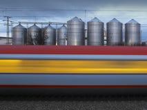 Treno di velocità Immagine Stock