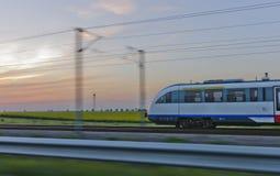 Treno di velocità Immagini Stock