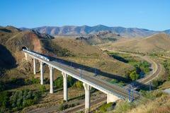 Treno di velocità Immagini Stock Libere da Diritti